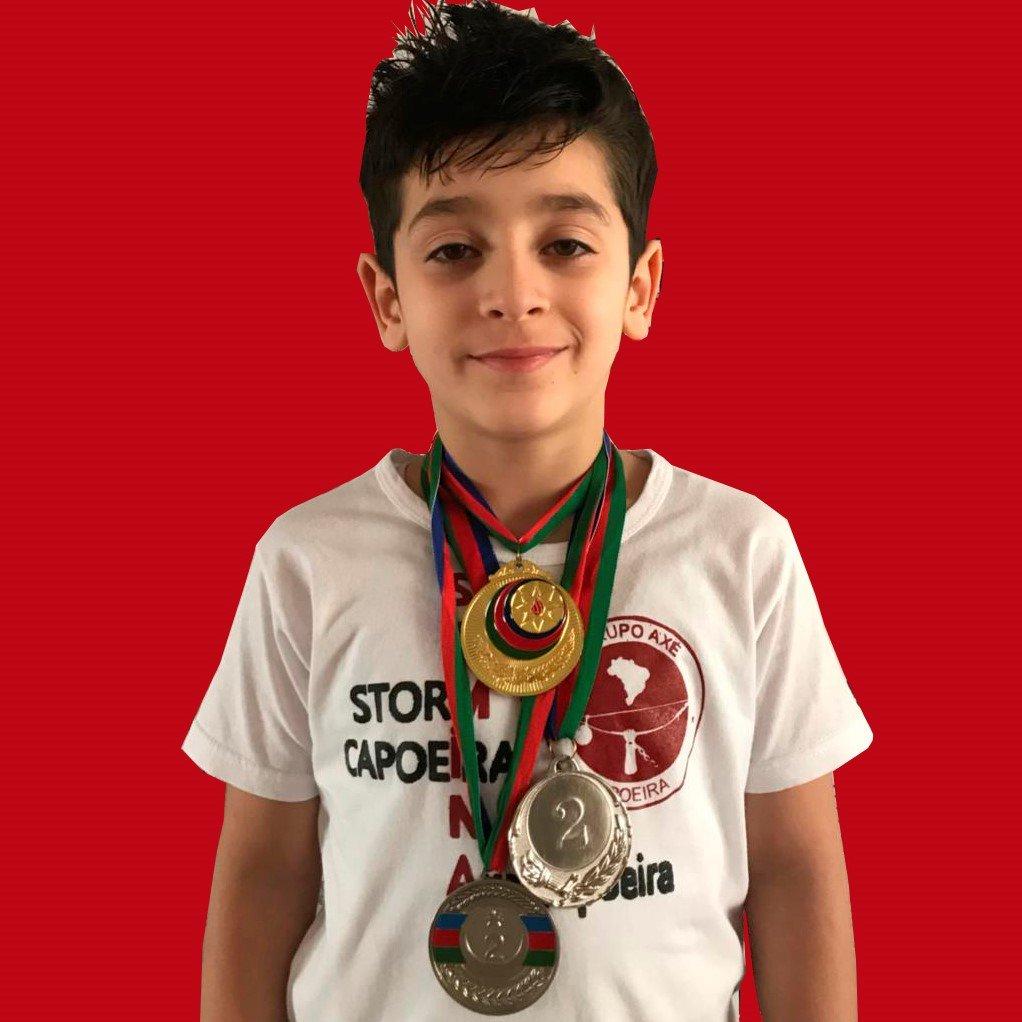 Əhmədov Aydın Storm Capoeira cempion